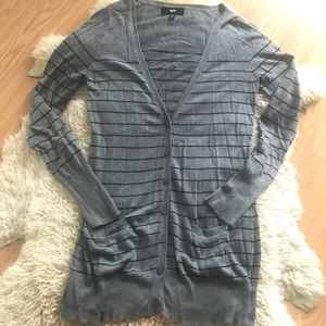 Mossimo Striped Cardigan Sweater